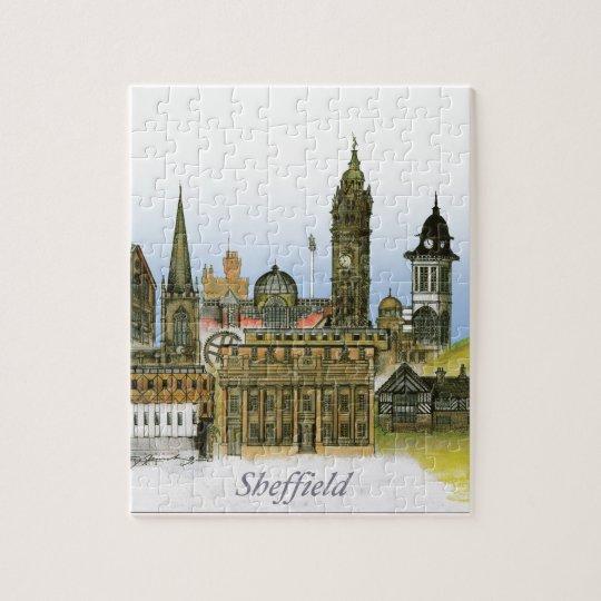 sheffield - south yorkshire, tony fernandes jigsaw puzzle