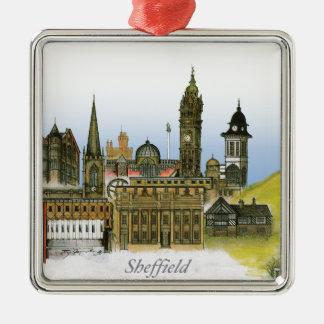 sheffield - south yorkshire, tony fernandes metal ornament