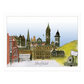 sheffield - south yorkshire, tony fernandes postcard
