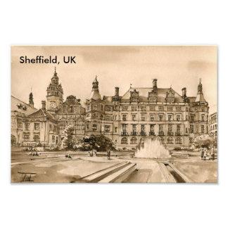 Sheffield, UK Photo Print