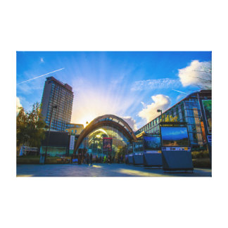 Sheffield Winter Garden Gallery Wrapped Canvas