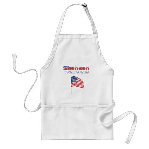 Sheheen Patriotic American Flag 2010 Elections Aprons