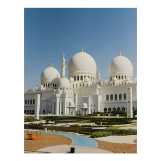 Sheikh Zayed Grand Mosque,Abu Dhabi 21.5 Cm X 28 Cm Flyer