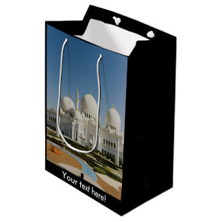 Sheikh Zayed Grand Mosque,Abu Dhabi Medium Gift Bag