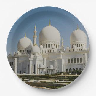 Sheikh Zayed Grand Mosque,Abu Dhabi Paper Plate