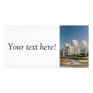 Sheikh Zayed Grand Mosque,Abu Dhabi Photo Card