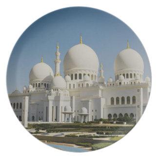 Sheikh Zayed Grand Mosque,Abu Dhabi Plate
