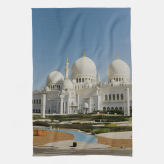 Sheikh Zayed Grand Mosque,Abu Dhabi Tea Towel