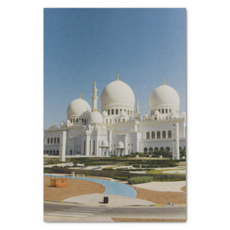 Sheikh Zayed Grand Mosque,Abu Dhabi Tissue Paper