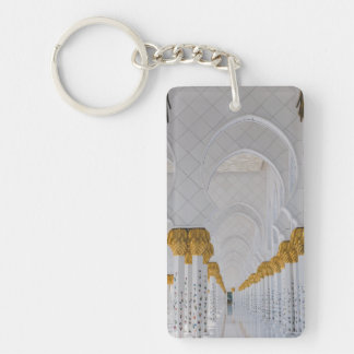 Sheikh Zayed Grand Mosque columns,Abu Dhabi Key Ring
