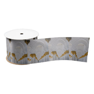 Sheikh Zayed Grand Mosque columns,Abu Dhabi Satin Ribbon