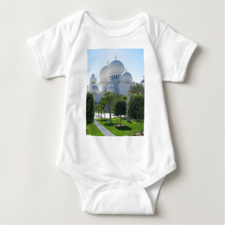 Sheikh Zayed Grand Mosque Domes Baby Bodysuit