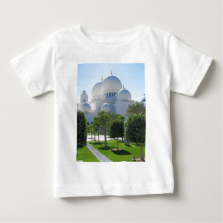 Sheikh Zayed Grand Mosque Domes Baby T-Shirt