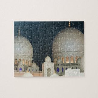 Sheikh Zayed Grand mosque in Abu Dhabi, UAE Jigsaw Puzzle