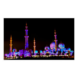 Sheikh Zayed Mosque Poster