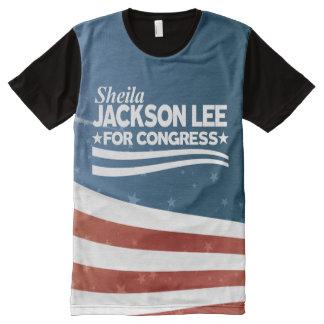 Sheila Jackson Lee All-Over Print T-Shirt