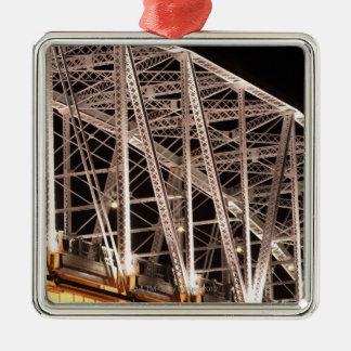 Shelby Street Bridge, Nashville, Tennessee, USA Metal Ornament