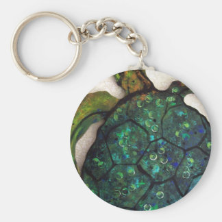 Sheldon the Sea turtle Key Ring