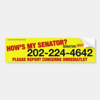 Sheldon Whitehouse Bumper Sticker