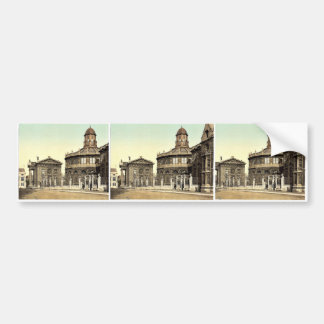 Sheldonian Theatre Oxford England rare Photochro Bumper Sticker