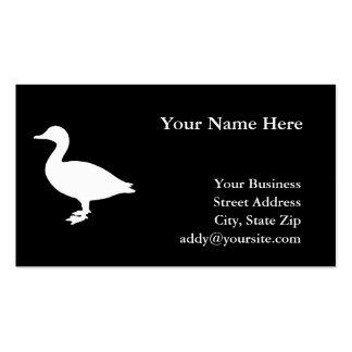 Sheldrake Duck Business Card Template