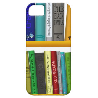 shelf books library reading barely there iPhone 5 case