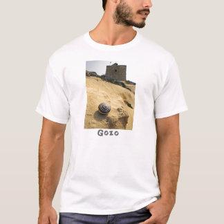 Shell and Tower, Gozo, Malta T-Shirt
