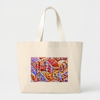 Shell Collector Large Tote Bag