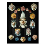 Shell faces post card