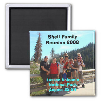 Shell Family Reunion 2008 Square Magnet