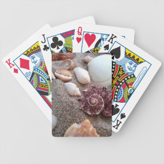 Shell Game Bicycle Playing Cards