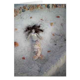 Shell Mermaid Card