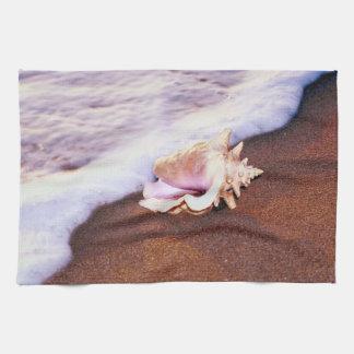 Shell on the Beach Towel