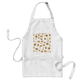 Shell pattern standard apron
