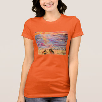 shell seekers at sunset T-Shirt