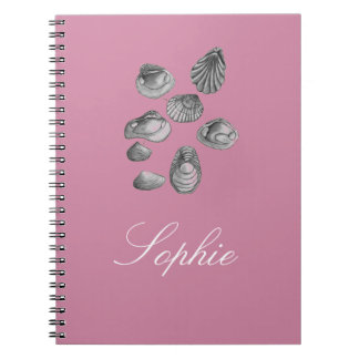 Shell sketch notebook