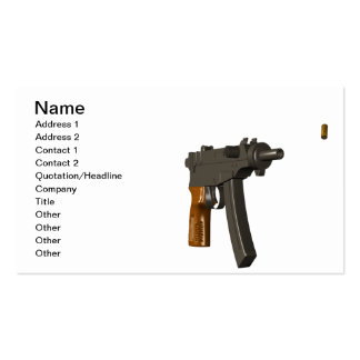 Shell Spitter Business Cards