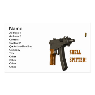 Shell Spitter Pack Of Standard Business Cards