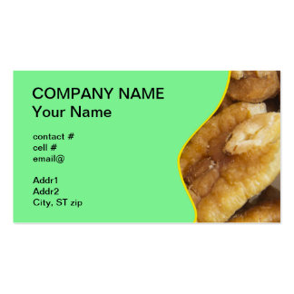 shelled pecans pack of standard business cards