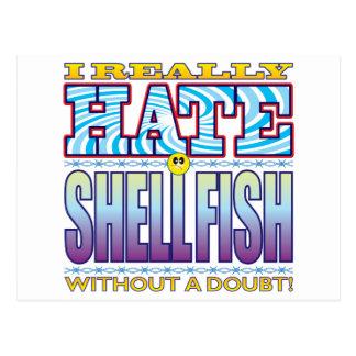 Shellfish Hate Face.pdf Postcard