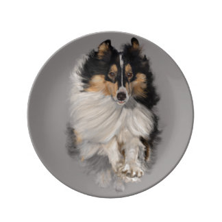 Shellie on the Move Porcelain Plates