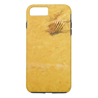 Shells and Sand on Beach Abstract Impressionist iPhone 7 Plus Case