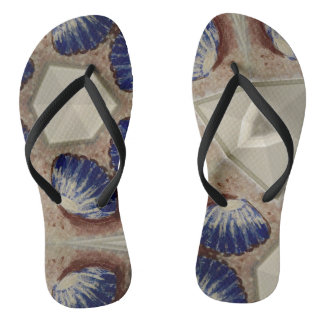 Shells and sea thongs