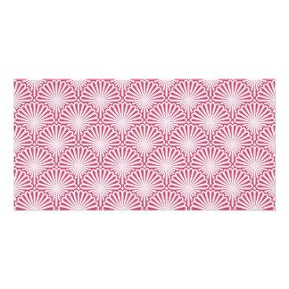 Shells artwork pattern photo cards
