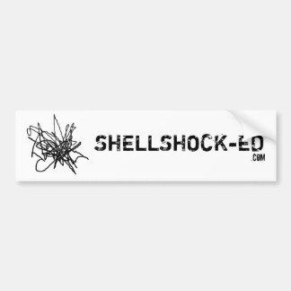SHELLSHOCK-ED bumper sticker
