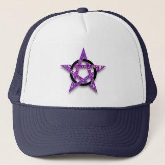 Shelly's Star purple pentacle Trucker Hat