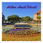Shelter Cove Harbour & Marina Hilton Head Island Poster