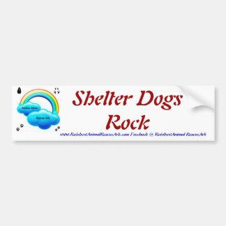 Shelter Dogs Bumper Sticker