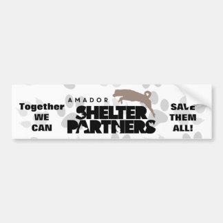 SHELTER Partners Logo Bumper Sticker
