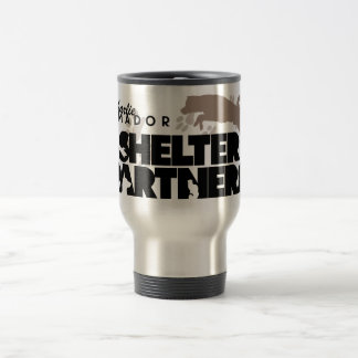 SHELTER Partners Logo Custom Travel Mug